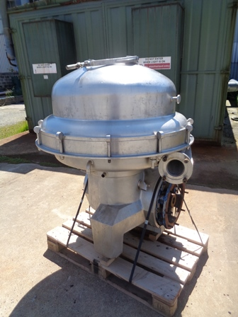 Alfa Laval SRPX-417-HGV-14CH Stainless Steel Separator Centrifuge