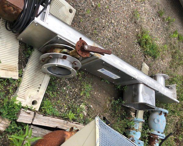 6″ Dia. X 6'7″ Long Stainless Steel Screw Conveyor