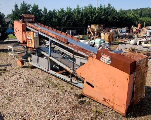 12″ Wide X 15'6″ Long Sandvik Stainless Steel Cooling Belt