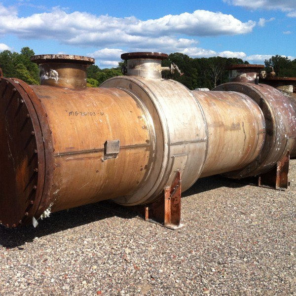 5300 Sq. Foot Doyle & Roth Horizontal Heat Exchanger