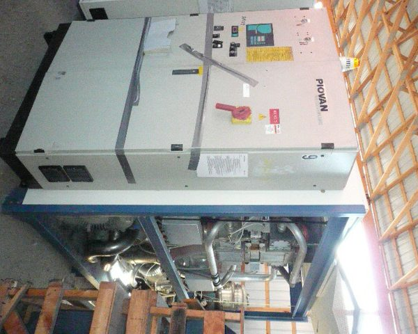 6000 Lb. Piovan Model PS7000 DS428HT Desiccant Dryer