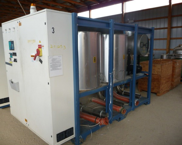 6000 Lb. Piovan Model PS7000 DSN531 Desiccant Dryer