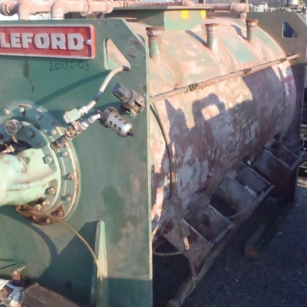 2000 Liter Littleford Model FKM2000E Carbon Steel Mixer