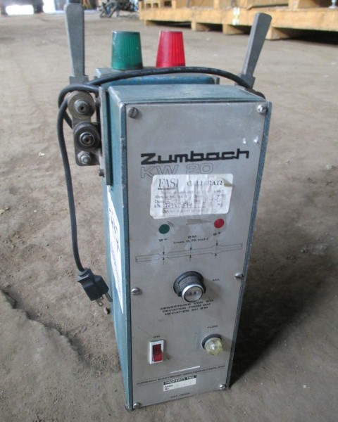 Zumbach Model KW20 Surface Fault Detector