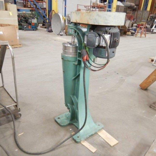 Sharples Model AS16 Stainless Steel Clarifier