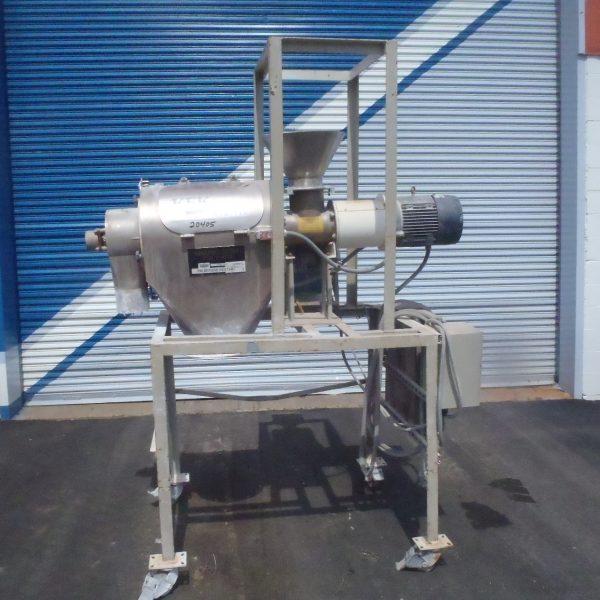 Kemutec Model K650 Stainless Steel Rotary Screener