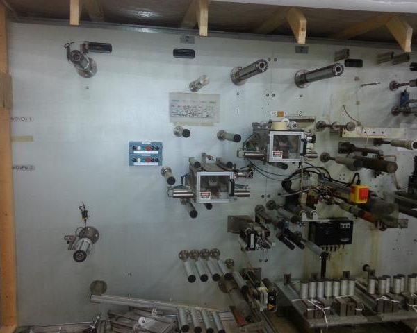 7″ Promea Engineering PST (Pressure Sensitive Tape) Side Tab Machine