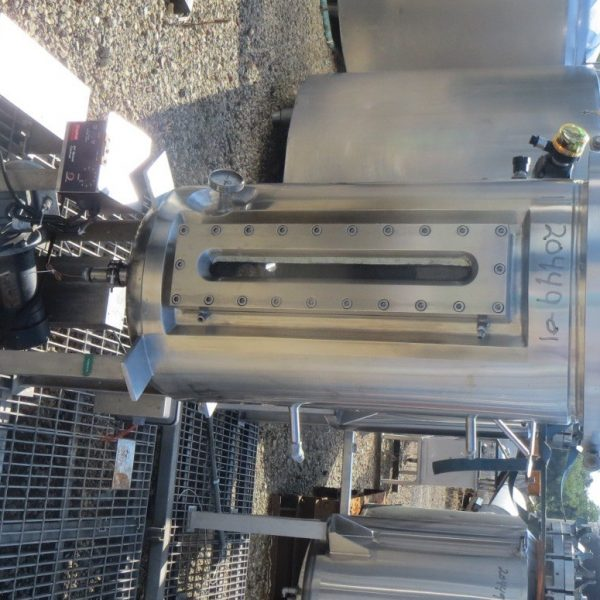 36 Gallon 45 PSI Internal, 50 PSI Jacket Stainless Steel Vessel