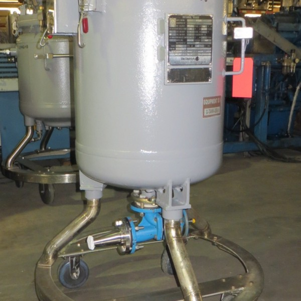 50 Gallon, 100 PSI/FV, De Dietrich Glass Lined Tank