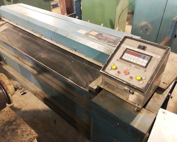 60″ Rosenthal Model WA-S-5-HUBSEVAAW Sheeter