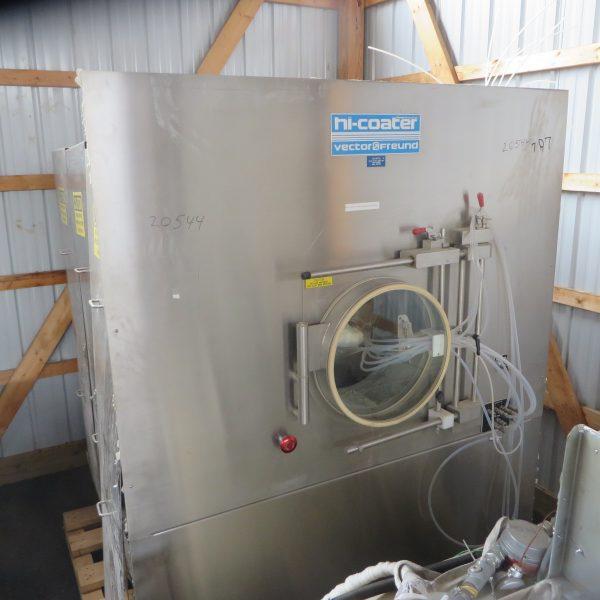FREUND-VECTOR MODEL HC-130 S/S HI-COATER