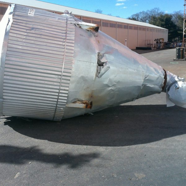 7′ X 6′ Stainless Steel Bowen Spray Dryer