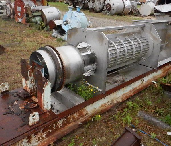 Rietz Model RSP-16-K2 Continuous Screw Dewatering Press