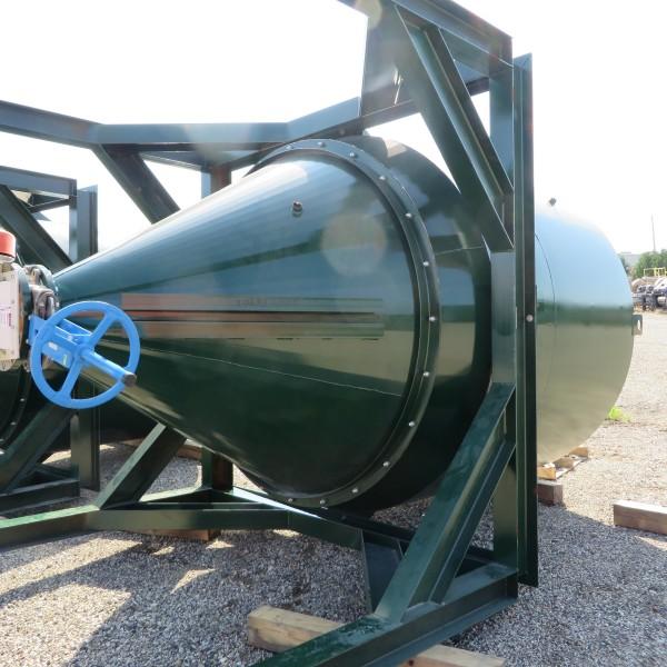 433 Cubic Foot Clayton M Landis Steel Steel Silo