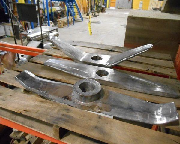 Assortment of Spare Henschel Mixer Blades for Henschel Mixer