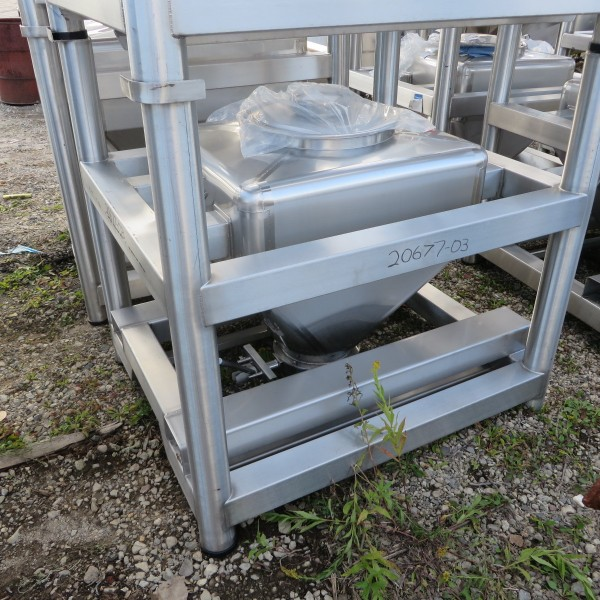 10 Cubic Foot Tote Inc. Stainless Steel Tote