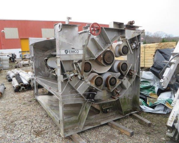 1.8 Meter Wide Eimco Model 6'PA Continuous Belt Press