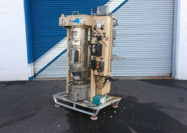 Glatt WSG5 Stainless Steel Fluid Bed Dryer.