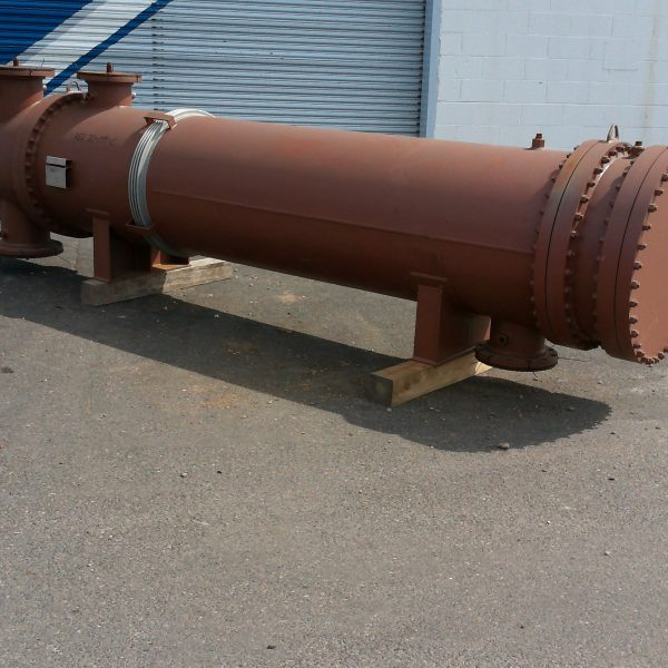 1516 Sq. Foot Perry Products Shell and Tube Heat Exchanger Unused