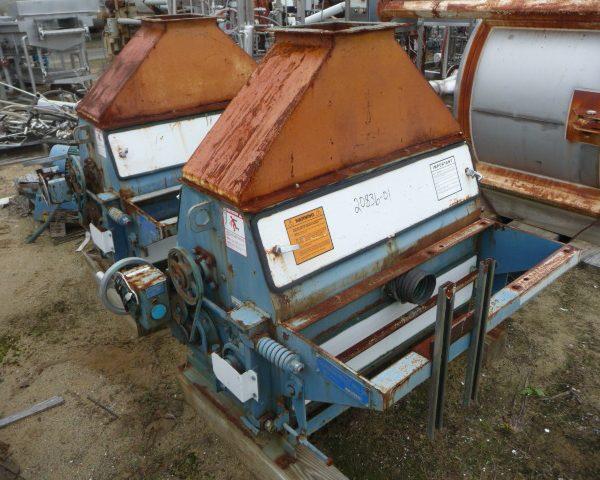 9″ X 36″ Roskamp Model TRC936 10HP Carbon Steel Flaker