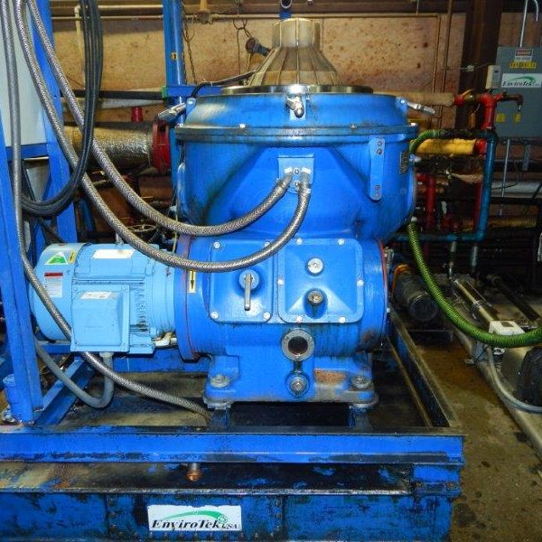 Alfa Laval Model WHPX-510 Centrifuge Rebuilt by Dolphin Marine Services