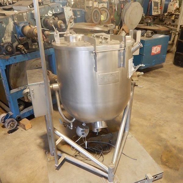 25 Gallon Groen 125 PSI Jacket Stainless Steel Kettle