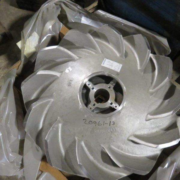 46″ Voith Pulper Rotor 12-Blade Design