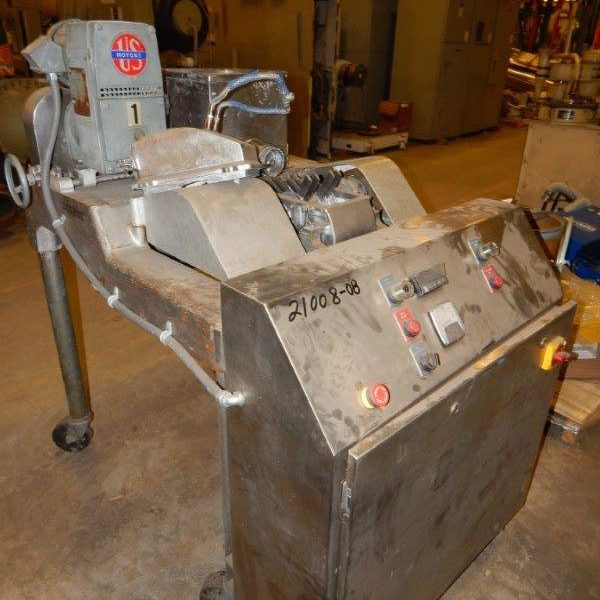Model DASO-6 Stainless Steel Fitzmill With Screw Feed