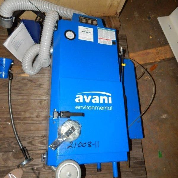 Used Avani Environmental Welding Fume Extractor Model SPC-Mini New in 2016