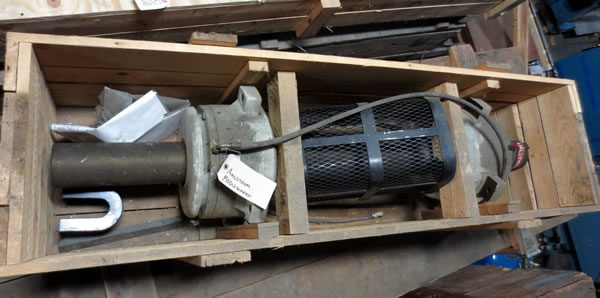 Ahlstrom F4 Pressure Screen Main Shaft