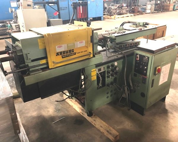25 Ton Arburg All Rounder Model 221-55-250 Injection Molder