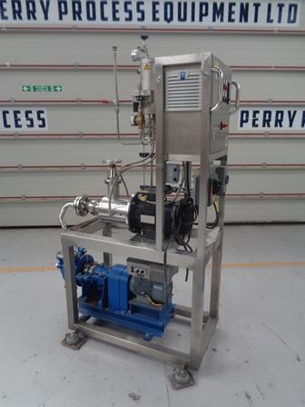7.5 kW Art Prozess & Labortechnik Type MICCRAPI-D-75 DFK-3 Stainless Steel Inline Homogeniser/Disperser