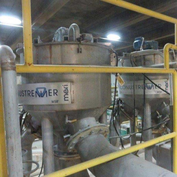 Meri Conustrenner Stainless Steel Spray Filtration System