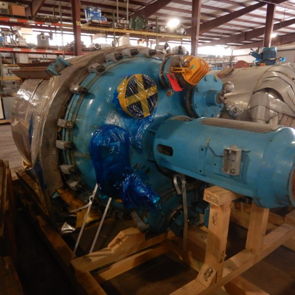 250 Gallon DeDietrich Glass Lined Reactor