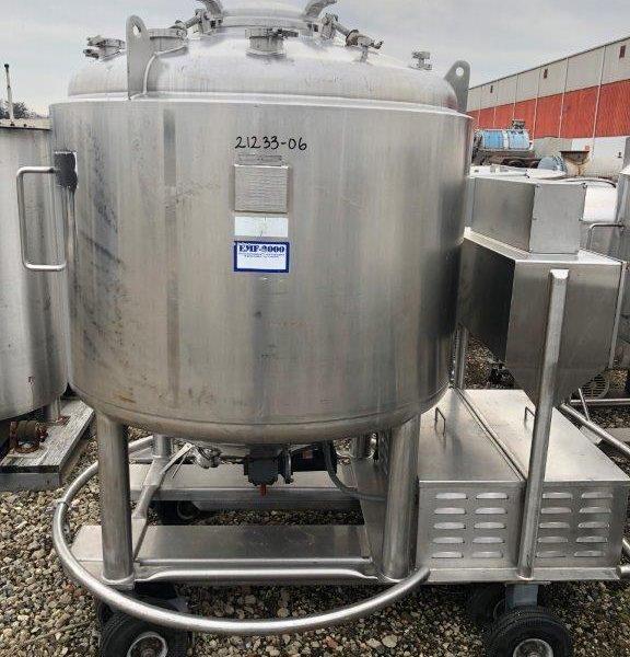 300 Gallon 316L Stainless Steel Pressure Vessel /Likwifier