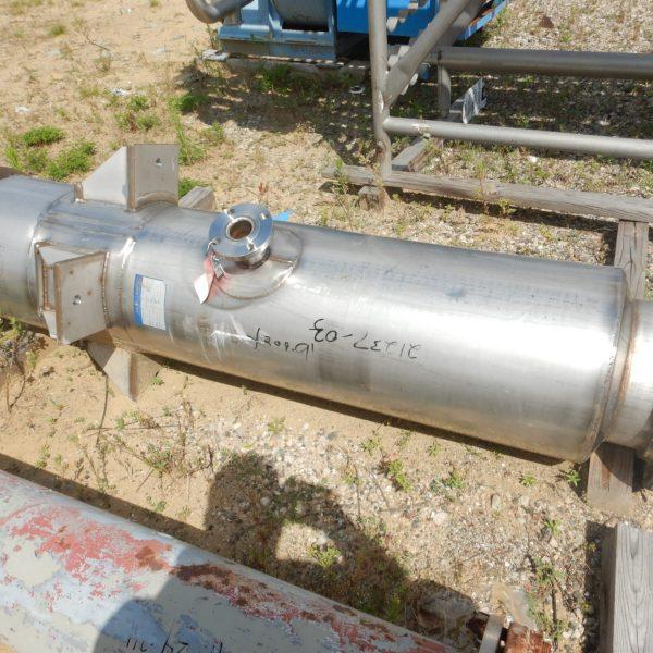 12″ X 22′ Mueller, 304 Stainless Steel Distillation Column