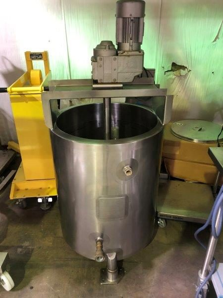 36 Gallon 304 Stainless Steel Jacketed Mix Tank