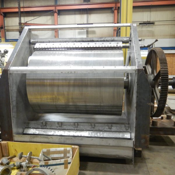 48″ X 60″ Buflovak Stainless Steel Drum Flaker