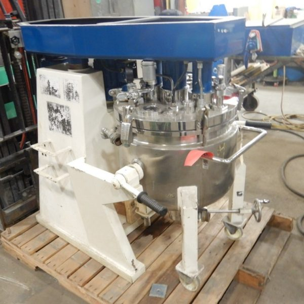 50 Liter 1 HP Brogli Homogenizer Homogenizer