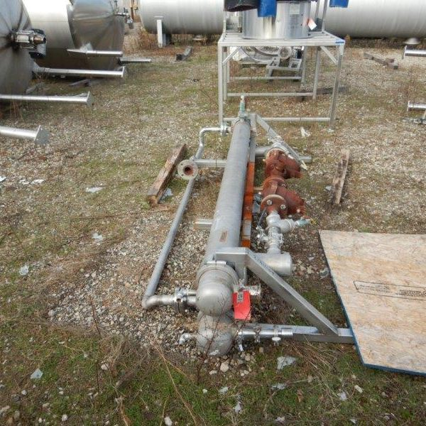 6′ Dia. X 100″ Long  Koss Ind. Shell & Tube Heat Exchanger