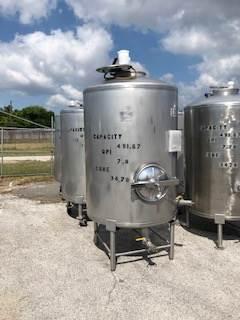 540 Gallon Stainless Steel Tank