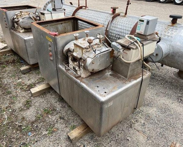 1 Gallon Carbon Steel Double Arm Baker Perkins Vacuum Mixer