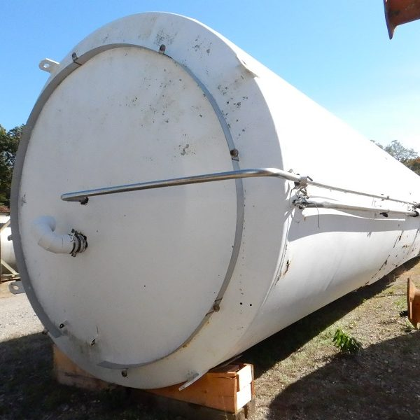 50,000 Gallon Stainless Steel Tank, 11'6″ Dia. X 64'5″ Straight Side