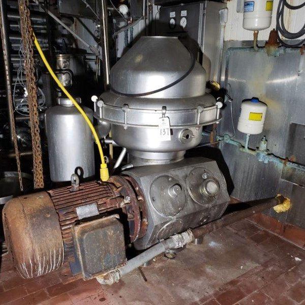 Alfa Laval Centrifuge, Model HMRPX 514HGV-746-60
