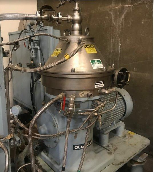 Alfa Laval BTPX-205SGD-35CDP-60 Stainless Steel Disc Centrifuge