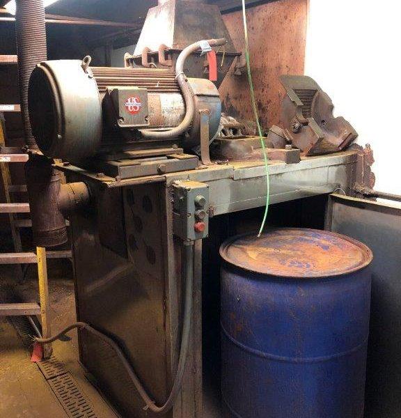 Mikro-Pulverizer Hammer Mill, Model 2DH