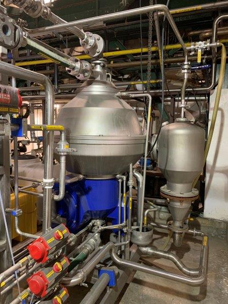 Alfa Laval BD80 Stainless Steel Centrifuge
