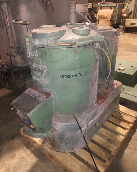 150 Liter Prodex Henschel High Intensity Mixer