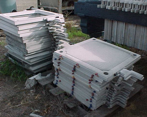 30″ X 30″ Independent Polypropylene Plate and Frame Filter Press