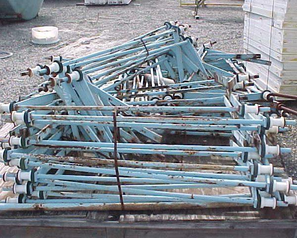 51″ X 51″ Durco Quadra Press Polypropylene Automatic Filter Press
